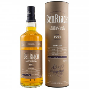Benriach 1991/2019 27 Jahre Single Rum Cask No. 1865