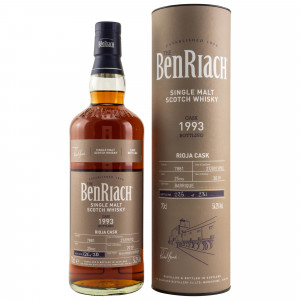 Benriach 1993/2019 25 Jahre Rioja Single Cask No. 7881