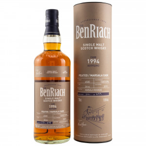 Benriach 1994/2019 24 Jahre Peated Marsala Single Cask No. 6500