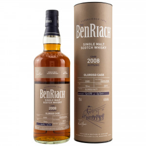 Benriach 2008/2019 10 Jahre Oloroso Single Cask No. 3085