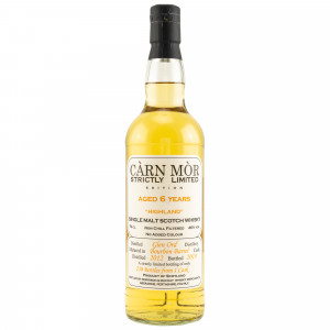 Glen Ord 2012/2019 6 Jahre Bourbon Barrel (Carn Mor Strictly Limited)