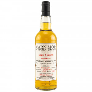 Glen Moray 2012/2019 6 Jahre Sherry Butt (Carn Mor Strictly Limited)