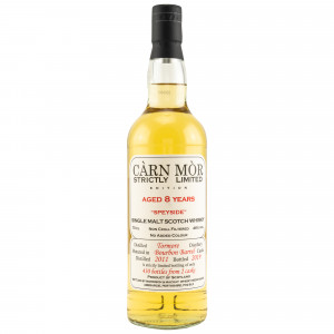 Tormore 2011/2019 8 Jahre Bourbon Barrel (Carn Mor Strictly Limited)