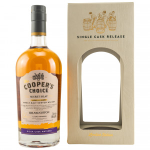 Kilnaughton Secret Islay 2019 Rioja Single Cask (The Coopers Choice)