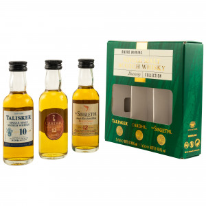 Single Malt Discovery Collection Minis - Talisker 10 Jahre / Cardhu 12 Jahre / Singleton of Dufftown 12 Jahre