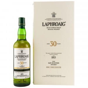 Laphroaig 30 Jahre The Ian Hunter Story No. 1