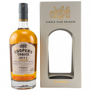 Tormore 2011/2019 8 Jahre Peated Cask & Sauternes Cask Finish (The Coopers Choice)