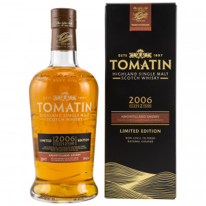 Tomatin 2006/2019 12 Jahre Amontillado Sherry Butt Finish