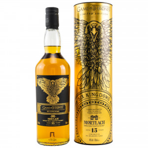 Mortlach 15 Jahre - Six Kingdoms (GOT Malts Collection)