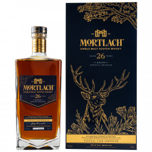Mortlach 26 Jahre Cask Strength 2019 Release