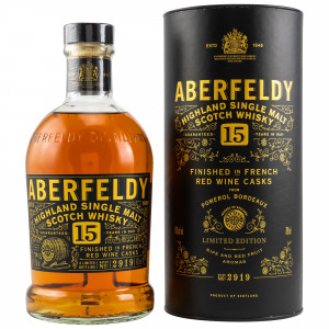 Aberfeldy 15 Jahre French Red Wine Finish (Limited Edition)