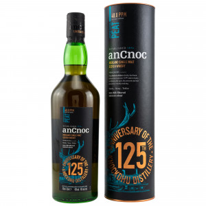 AnCnoc Peat 40 ppm 125th Anniversary Limited Edition