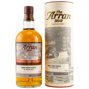 Arran Small Batch 10 Jahre Pinot Noir 2019