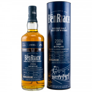 Benriach 2006/2019 13 Jahre Peated Oloroso Sherry Butt No. 581