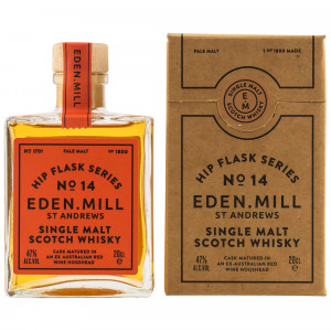 Eden Mill Hip Flask Series No. 14 Pale Malt Red Wine Cask (200 ml)
