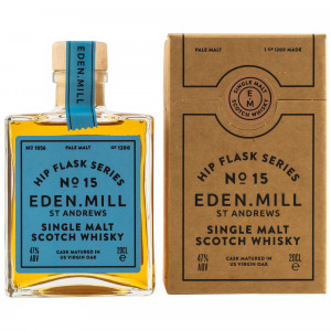 Eden Mill Hip Flask Series No. 15 Pale Malt Virgin Oak Cask (200 ml)