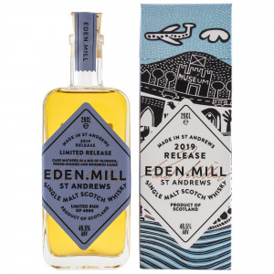 Eden Mill Single Malt 2019 Release - 0,2 Liter