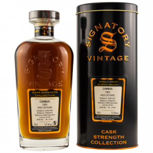 Cambus 1991/2019 28 Jahre Single Grain Refill Sherry Butt No. 34109 (Signatory Cask Strength)