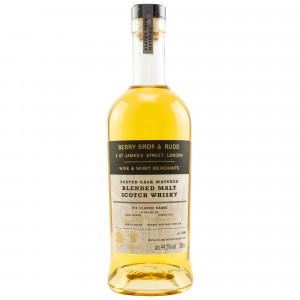 Blended Malt Peated Cask Matured - schlanke Flasche (Berry Bros and Rudd)