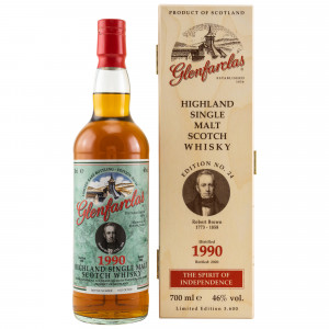 Glenfarclas 1990/2020 Limited Edition No. 24 Robert Brown