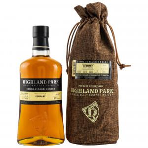 Highland Park 2006/2019 - 12 Jahre Single Sherry Butt No. 6824 Germany Exclusive (Single Cask Series)