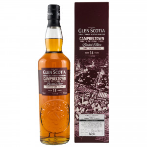 Glen Scotia 2020 - 14 Jahre Campbeltown Malts Festival Tawny Port Finish