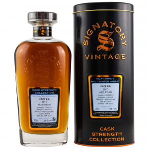 Caol Ila 2010/2020 9 Jahre Cask No. 316658 (Signatory Cask Strength Collection)