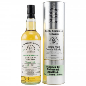 Balmenach 2008/2020 - 11 Jahre Cask No. 345 (Signatory Un-Chillfiltered Collection)