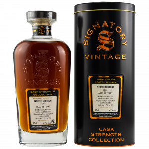 North British 1991/2020 - 28 Jahre Cask No. 262056 (Signatory Cask Strength)