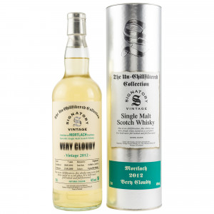 Mortlach 2012/2020 - 7 Jahre Very Cloudy Casks No. 313969+313970 (Hogsheads) (Signatory Un-Chillfiltered)