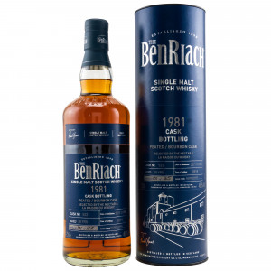 Benriach 1981/2019 - 38 Jahre Peated Bourbon Cask No. 522