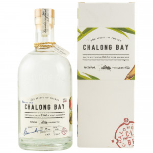 Chalong Bay Natural Handcrafted Cane Rum mit Geschenkverpackung (Rum)