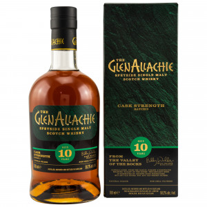GlenAllachie 10 Jahre Cask Strength Batch 03