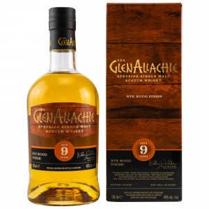 GlenAllachie 9 Jahre Rye Wood Finish
