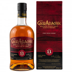 GlenAllachie 11 Jahre Port Wood Finish