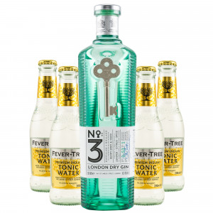 No. 3 London Dry Gin & gratis Fever-Tree Indian Tonic