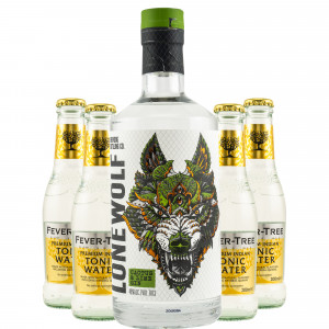 Brewdog Lonewolf Cactus & Lime Gin & gratis Fever-Tree Indian Tonic