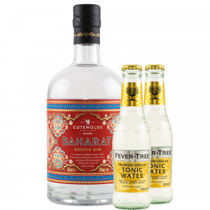 Cotswolds Baharat Exotic Gin & gratis Fever-Tree Indian Tonic
