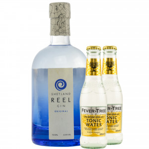 Shetland Reel Original Gin & gratis Fever-Tree Indian Tonic
