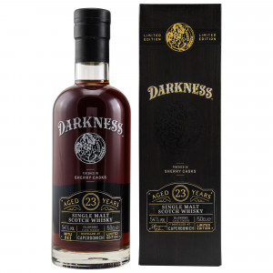 Caperdonich 23 Jahre Oloroso Octave Cask Finish (Darkness!)