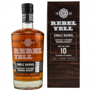 Rebel Yell 10 Jahre Single Barrel Kentucky Straight Bourbon Whiskey (USA: Bourbon)