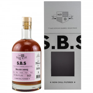 SBS Belize 2005 - 1423 Single Barrel Selection (Rum)