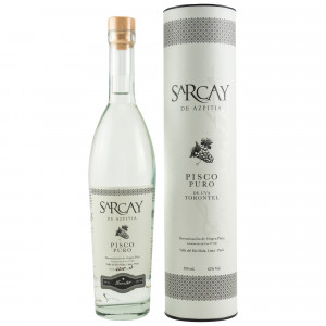 Sarcay de Azpitia Pisco Puro Torontel