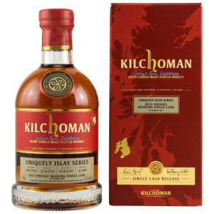 Kilchoman 2012/2020 - 8 Jahre Uniquely Islay Series Madeira Single Cask No. 181/2012