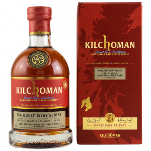 Kilchoman 2012/2020 - 8 Jahre Uniquely Islay Series Madeira Single Cask No. 185/2012