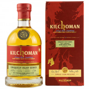 Kilchoman 2011/2020 - 9 Jahre Uniquely Islay Series Rum Single Cask No. 167/2011