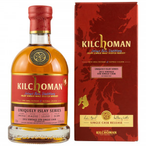 Kilchoman 2012/2020 - 8 Jahre Uniquely Islay Series STR Single Cask No. 198/2012