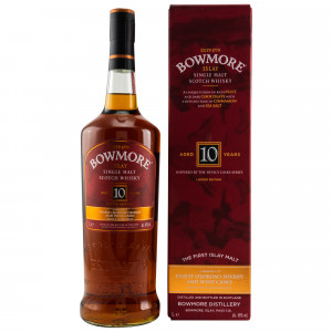 Bowmore 10 Jahre Limited Edition Inspired By The Devil's Cask Series (Liter)