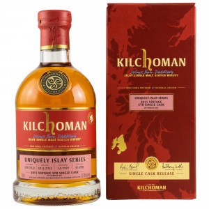 Kilchoman 2011/2020 - 8 Jahre Uniquely Islay Series STR Single Cask No. 229/2011