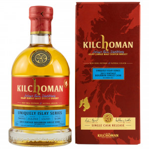 Kilchoman 2013/2020 - 6 Jahre Uniquely Islay Series Bourbon Single Cask No. 334/2013